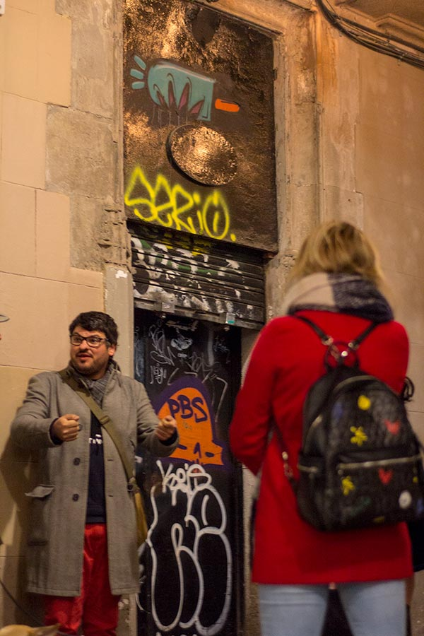 Uncensored Tours Barcelona street art Raval